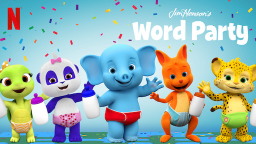 Word Party is a great educational show for toddlers and preschoolers.