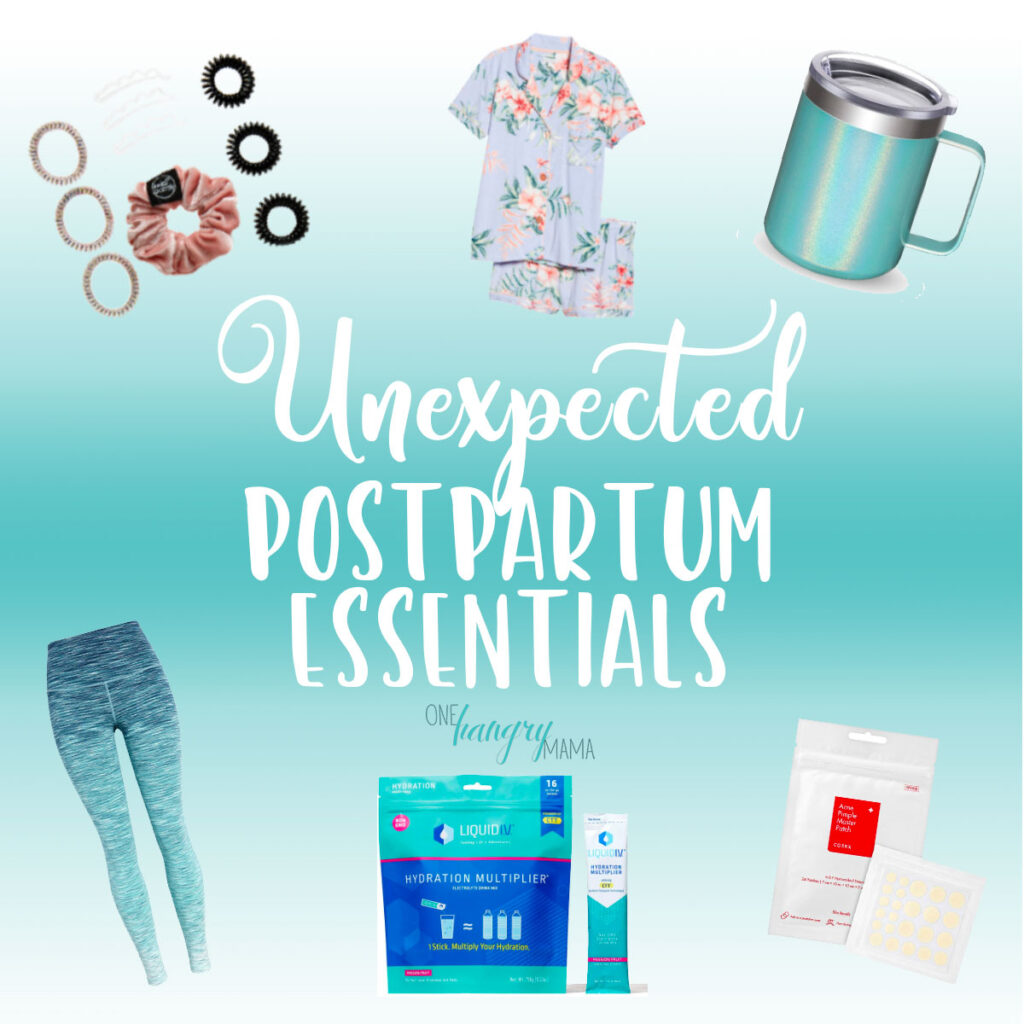 The unexpected postpartum essentials for all new moms – these are the things you wouldn't know you needed until you've lived the newborn life.