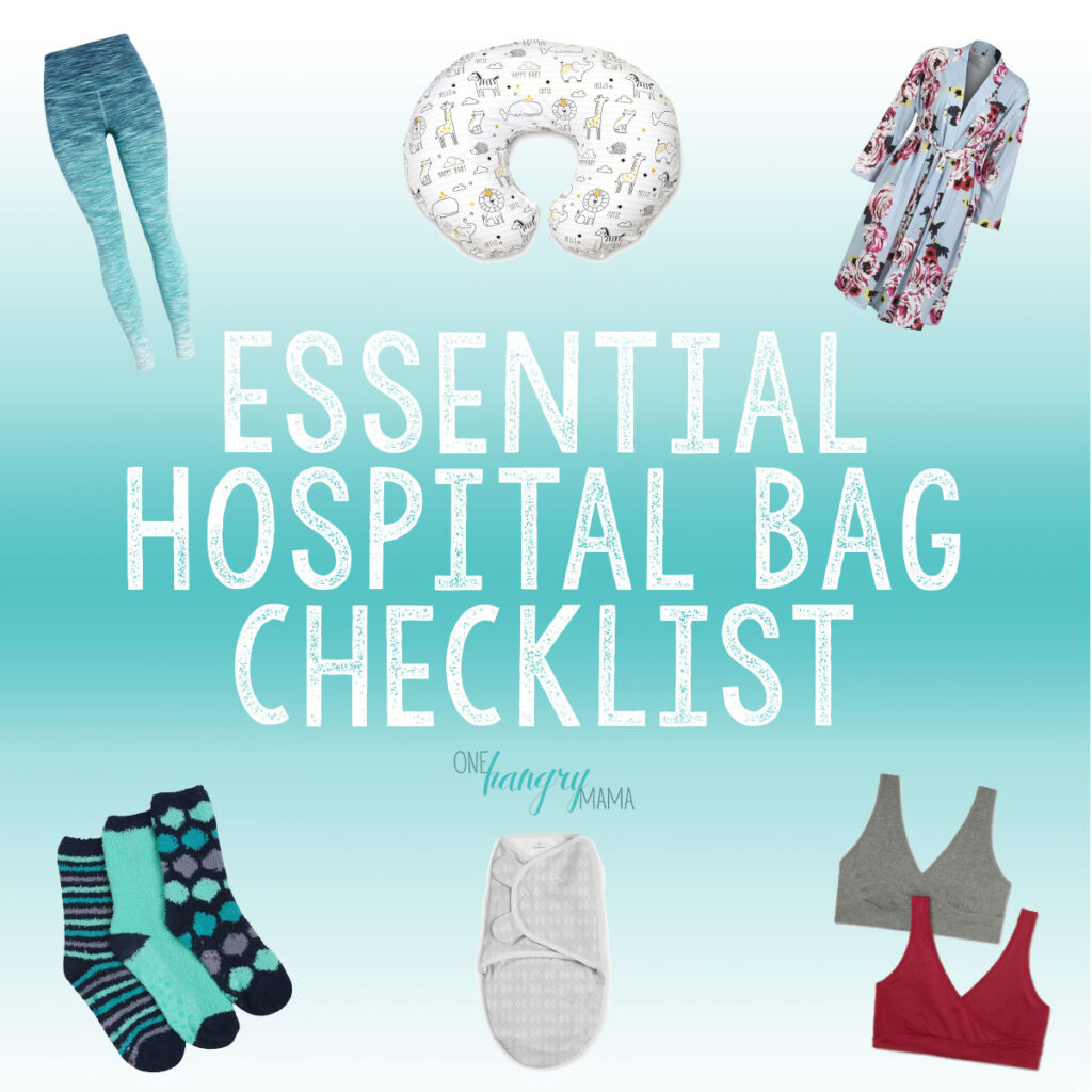 Packing a hospital bag for labor & delivery can be daunting –but this list of essentials for mom, dad, and baby will have you completely prepared!