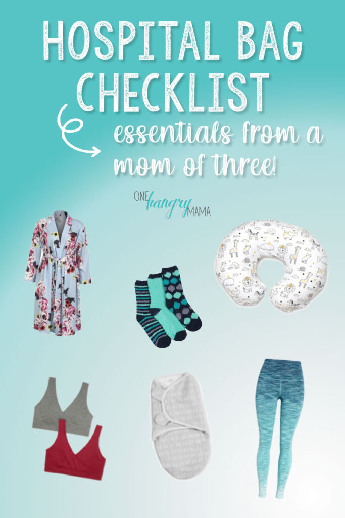 This hospital bag checklist from a mom of three has everything you need for labor & delivery, and none of the unnecessary clutter!