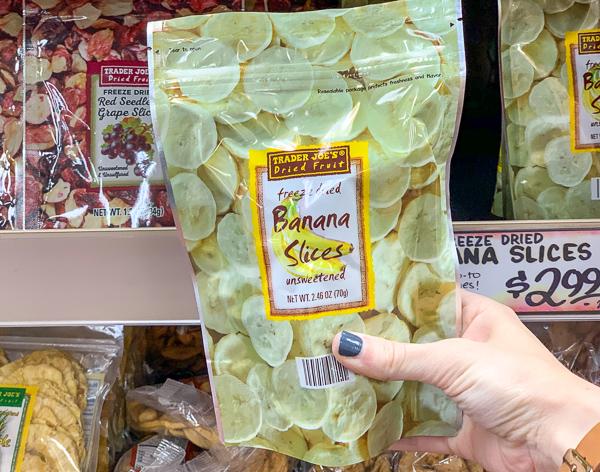 Trader Joe's Dried Banana Slices