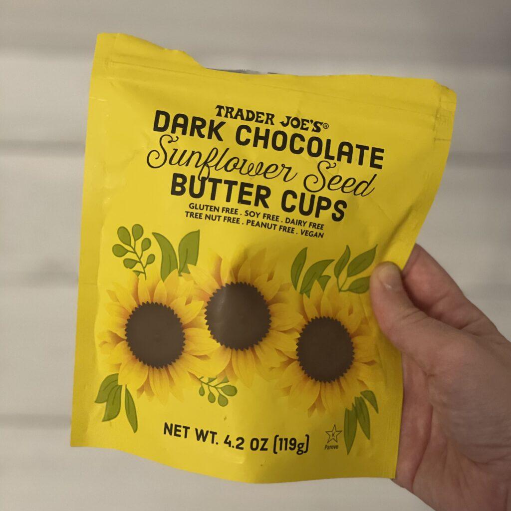 Trader Joe's Dark Chocolate Sunflower Seed Butter Cups
