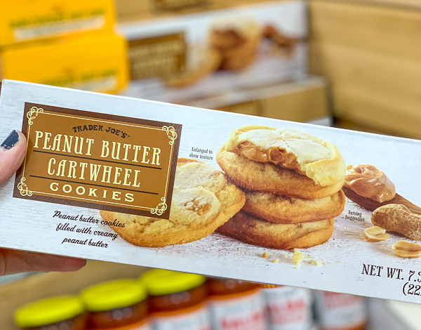 Trader Joe's Peanut Butter Cartwheel Cookies