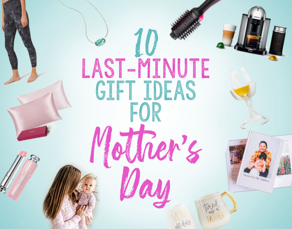 These 10 gift ideas for Mother's Day are great –and can all be picked up in store or shipped quickly, so there's still time to order! Great for pampering mom, giving her some self-care.