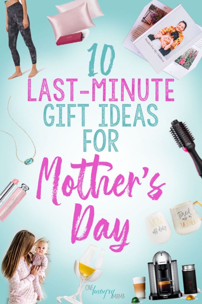 These 10 last minute Mother's Day gift ideas are great –and can all be picked up in store or shipped quickly, so there's still time to order! Great for pampering mom, giving her some self-care.